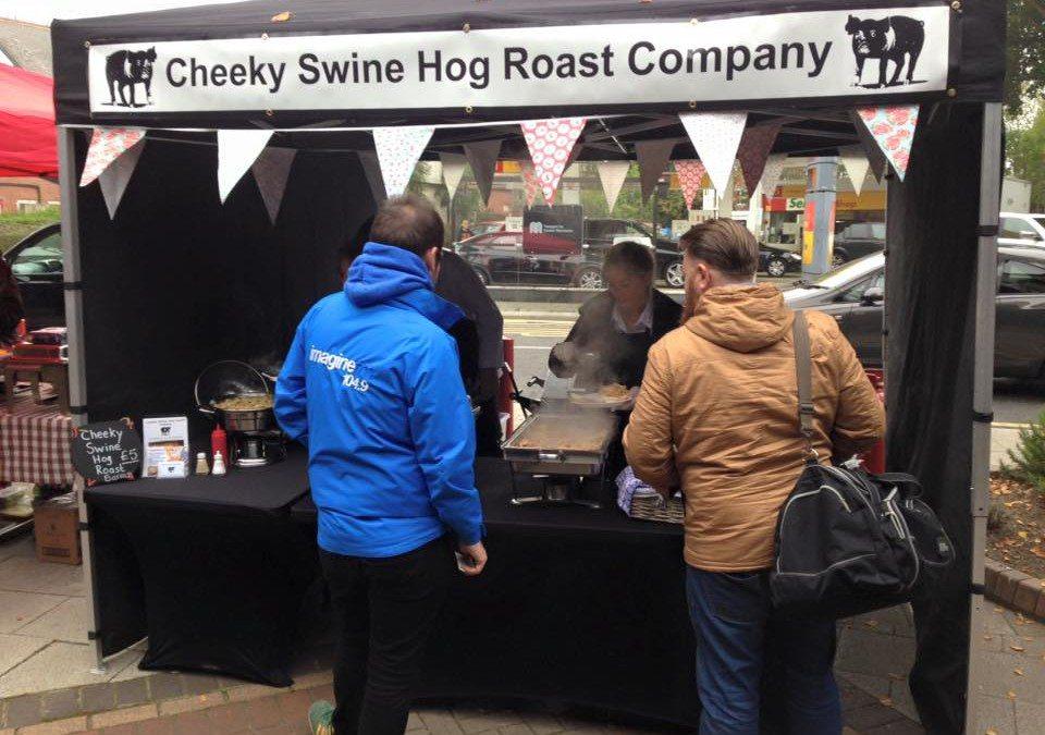 Cheeky Swine Hog Roast at Bramhall's Got Talent 2015