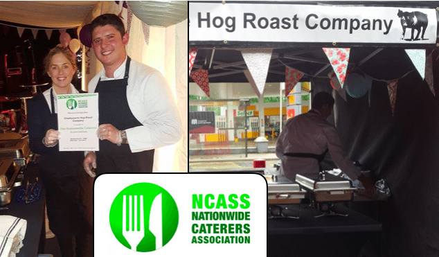Cheeky Swine Hog Roast: Official Members of the NCASS… and proud